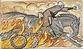 Akseli Gallen-Kallela - Knight and the Snake King, Illustration for Seitsemän veljestä.jpg