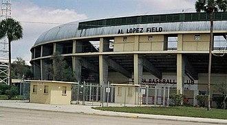 Al Lopez Field - Al López Field shortly before its demolition in 1989