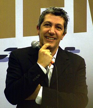 "Alain Chabat - Chabat at the ""Salon du Cinéma"" in Paris, 14 January 2006"