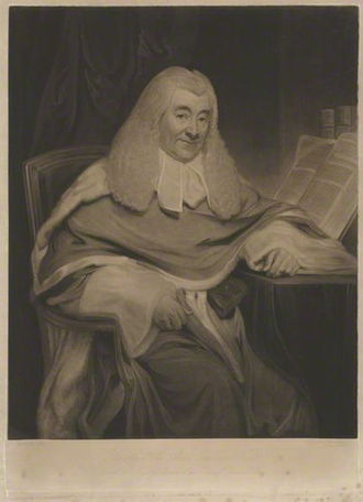 Alan Chambré - Sir Alan Chambré, mezzotint by Henry Meyer, after Sir William Allan