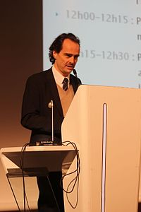 Alban Cerisier, président de la commission numérique du SNE et responsable du développement numérique chez Gallimard (11306097195).jpg