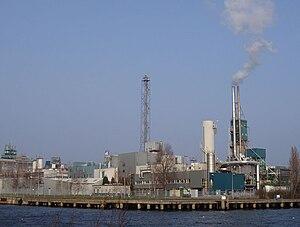 Albemarle Corporation - Albemarle facility located in Amsterdam.