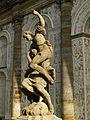 Alegorie noci – barokní socha od M.B. Brauna před Míčovnou.JPG