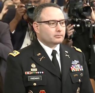 Alexander Vindman US Army officer