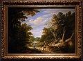 Alexander keirincx e cornelis van poelenburch, paesaggio boscoso con figure, 1630 ca.jpg