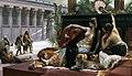 Клеопатра на полотне А. Кабанеля