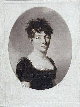 Sophie Bawr - Alexandrine-Sophie de Bawr, 1810, by Louis-Léopold Boilly