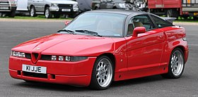 Alfa SZ AutoItalia Brooklands May 2012 THP 7123.jpg