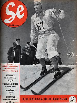 Alfred Dahlqvist - Dahlquist in 1941