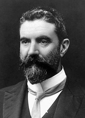 Commonwealth Liberal Party - Alfred Deakin, Prime Minister of Australia 1903–1904, 1905–1908 (Protectionist Party), 1909–1910 (CLP)