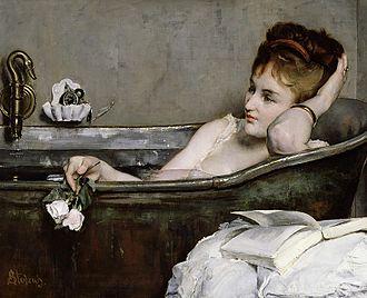 Alfred Stevens (painter) - Alfred Stevens Le Bain