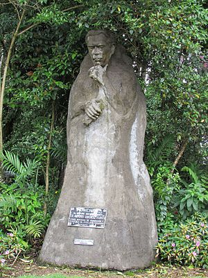 Alfredo González Flores - Statue in homage to Don Alfredo, ex-president of Costa Rica (1914-1917)