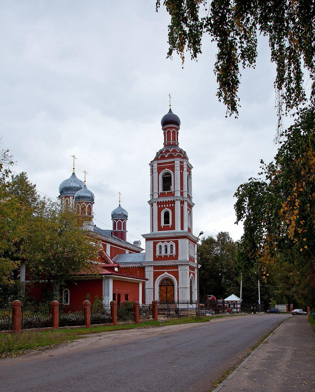 Храм Всех Святых (Серпухов) — Википедия