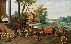 Jan Brueghel de Jonge: Allegorie op de tulipomania