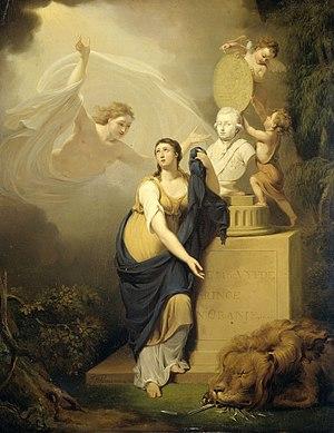 Jan Willem Pieneman - Image: Allegorie op de dood van Willem V, prins van Oranje, 1806 Rijksmuseum SK A 4268