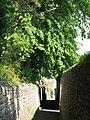 Alleyway east of Elvaston Road (2) - geograph.org.uk - 843389.jpg