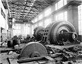 Allis-Chalmers water wheel no 2 installed in powerhouse, October 17, 1911 (SPWS 682).jpg