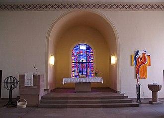 Altlußheim - Protestant Church Altlußheim
