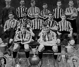 Alumni Athletic Club - In 1907 Alumni won the Primera División title, finishing unbeaten.