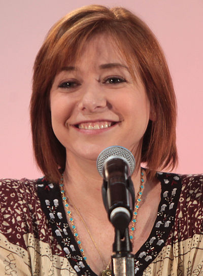 Alyson Hannigan, American actress and television presenter