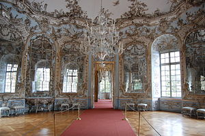 François de Cuvilliés - Hall of mirrors at Amalienburg