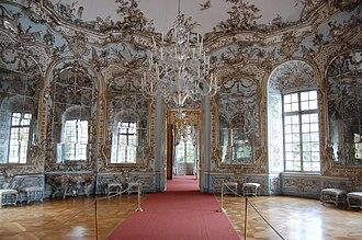 François de Cuvilliés - Hall of mirrors at Amalienburg