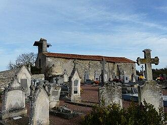 Amberre - The church of Saint-Martin of Bournezeau