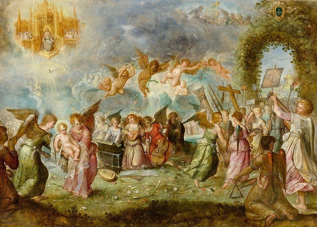 Ambrosius Francken (I) Triumph des Christuskindes c1605-10.jpg