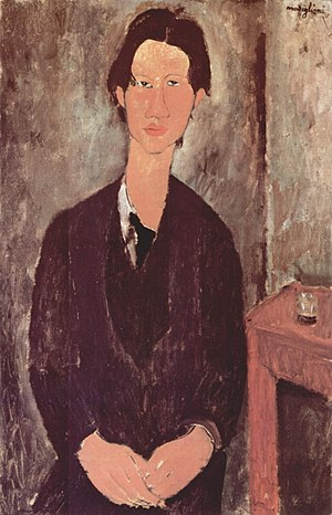 Chaim Soutine - Amedeo Modigliani, Chaim Soutine, 1917, National Gallery of Art