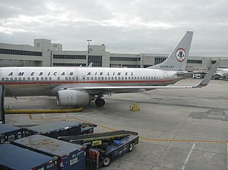 American Airlines - A Boeing 737 in the Astrojet livery