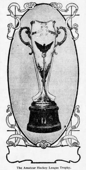 American Amateur Hockey League - Championship trophy of the league.