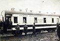 American Expeditionary Forces Hospital Car No. 1, Train No.1 at Khabarovsk, Russia, 1918-1919 (18155799199).jpg