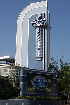 English: Facade of The American Idol Experienc...