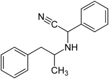Amphetaminil Structural Formulae.png