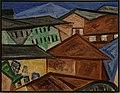 Amsterdam - Stedelijk Museum - Olga Vladimirovna Rozanova (Ольга Владимировна Розанова) (1886-1918) - Cityscape. Roofs (4.2001(719)) 1912.jpg
