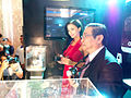 Amy Jackson unveils OLYMPUS OM-D camear, 2012(5).jpg