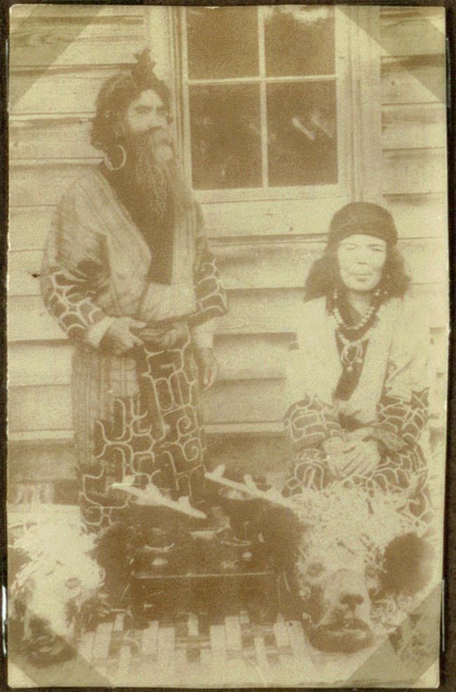 An Aino-Couple, Japan (10795600564)