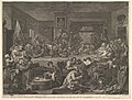 An Election Entertainment, Plate I- Four Prints of an Election MET DP827052.jpg