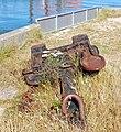 An anchor beside the coast path - geograph.org.uk - 1375903.jpg