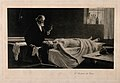 An elderly anatomist contemplates the heart that he has exci Wellcome V0010460.jpg