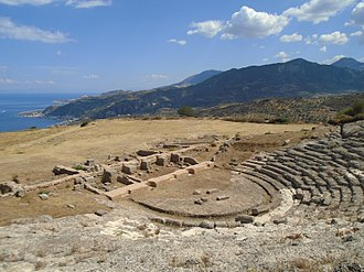 Aigeira - Ancient theater of Aigeira