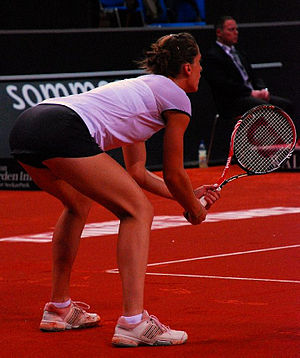 Andrea Petkovic - Petkovic at the 2010 Porsche Tennis Grand Prix