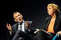 Andris Piebalgs EU kommissionar i energifragor och Connie Hedegaard Danmarks energi- och klimatminister under Nordic Climate Solutions. 2009-09-09.jpg