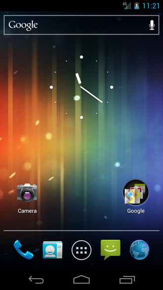 Android Ice Cream Sandwich - Image: Android 4.0