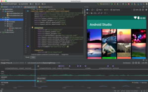 Android Studio 3.1 running on macOS