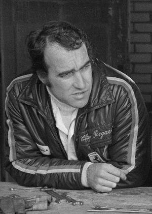 Clay Regazzoni - Image: Anefo 924 6609 Clay Reggazoni, Catherine Blaton, Jacky Ickx Zandvoort 18 06 1971 Cropped