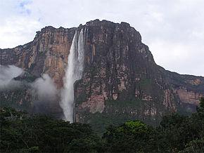 Cataratas del Salto Ángel