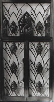 Anglo-American Corporation. 44 Main Street. Johannesburg. Side Bronze Doors. 1930.jpg