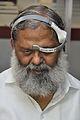 Anil Vij Checks Mind Game Exhibit - National Demonstration Laboratory - NCSM - Kolkata 2016-10-07 8215.JPG