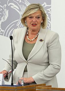 President of the Senate (Netherlands) elected member leading the meetings of the Senate of the Netherlands